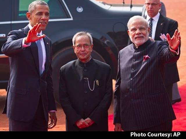 Video : Great Honour, says Obama at Rashtrapati Bhavan