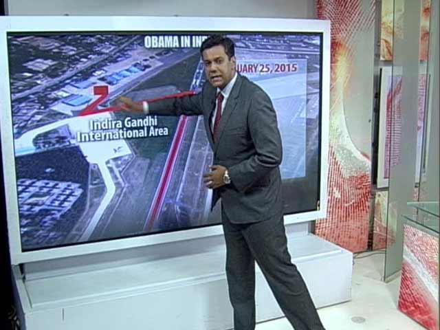 Video : 'Fortress' Delhi Gets Ready for Barack Obama's Visit