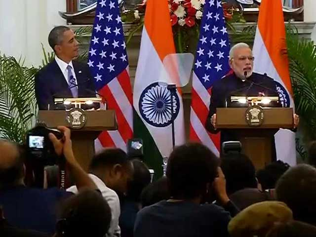 Video : PM Modi and Barack Obama Announce Nuclear Deal
