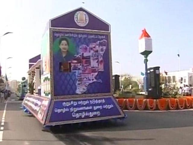 Video : In Chennai, Political Heat Over J Jayalalithaa's Lead Role in R-Day Floats