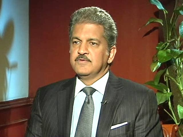 Video : Anand Mahindra on Indo-US Business Ties