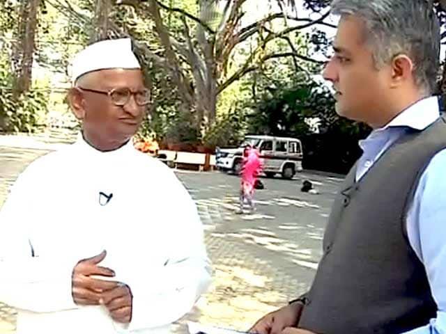 Video : नरेंद्र मोदी सरकार के खिलाफ करेंगे आंदोलन : अन्ना हजारे