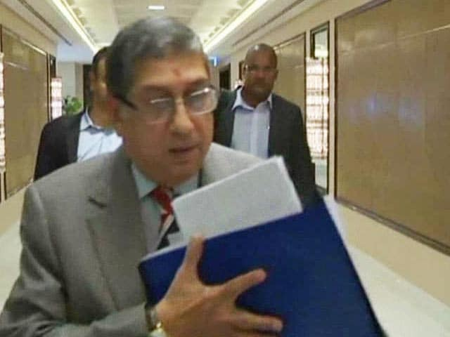Video : Should N. Srinivasan Continue to Hold ICC Post?