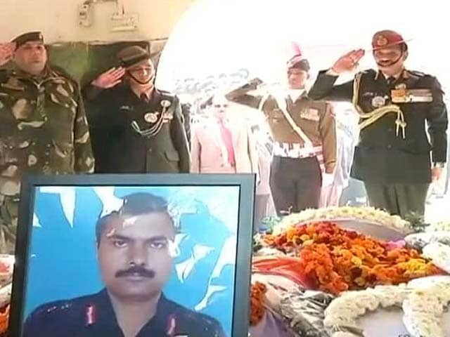 Video : At Braveheart's Cremation, Daughter Shouts His Regiment's War Cry
