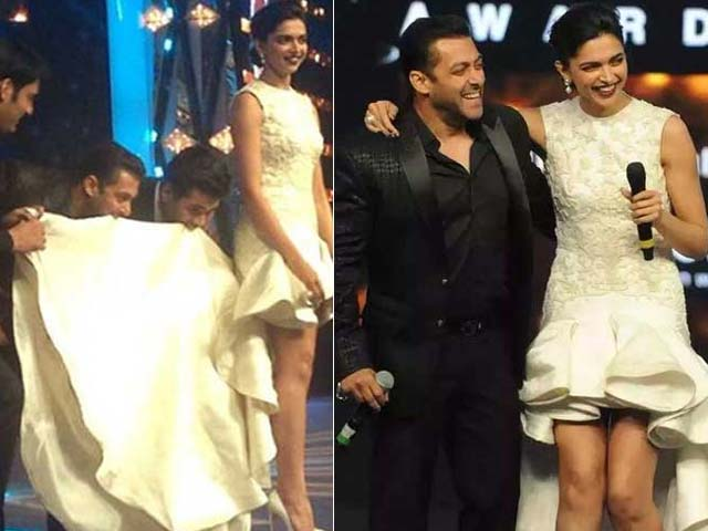 Superstar Power at the Filmfare Awards, as Deepika and Salman Took the Stage