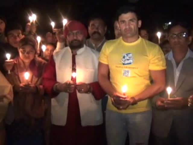 Video : Rohtak Residents Demand Action on Gang Rape and Murder of Mentally Challenged Woman