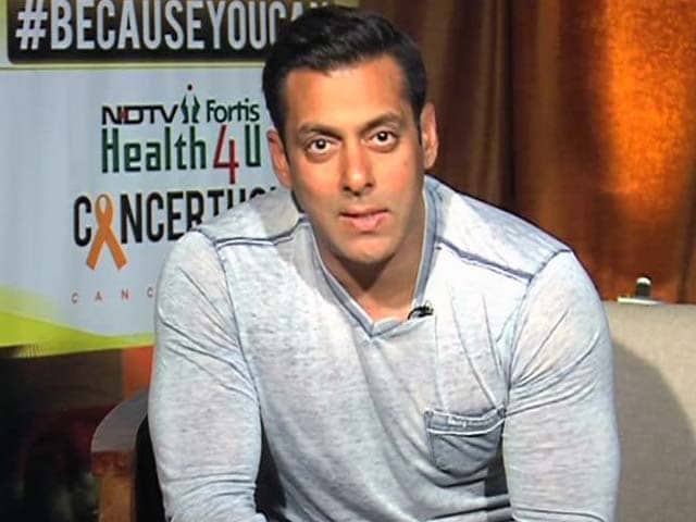 Video : Children Fighting Cancer Are the Real Heroes, Not Us: Salman Khan