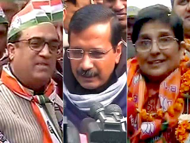 Video : दिल्ली के दंगल में किसकी होगी जीत?