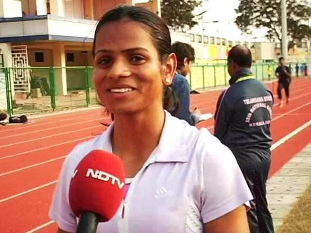 Video : Plenty of People Have Helped Me: National Games Gold Medalist Dutee Chand