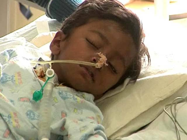 Video : 3-Year-Old Harshit, Allegedly Hit by Drunk Driver, Needs Your Help