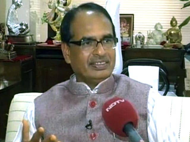 Video : Madhya Pradesh CM Considering Legal Action Against Congress' Digvijaya Singh Over Exam Scam