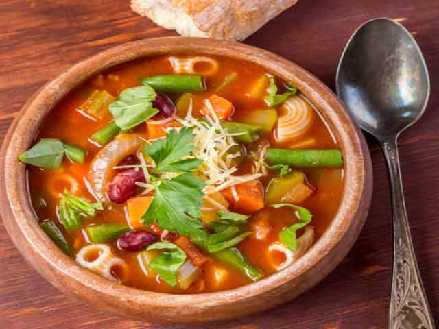 Video : Minestrone Soup