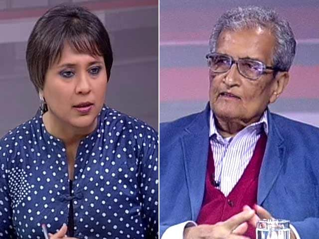 """Video : """"Am Free To Criticise PM Modi; Doesn't Give Govt Right To Interfere"""": Amartya Sen to NDTV"""
