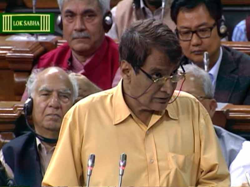 Video : '<i>Hey Prabhu</i>.' Railway Minister Puns on his Name, Amuses Parliament