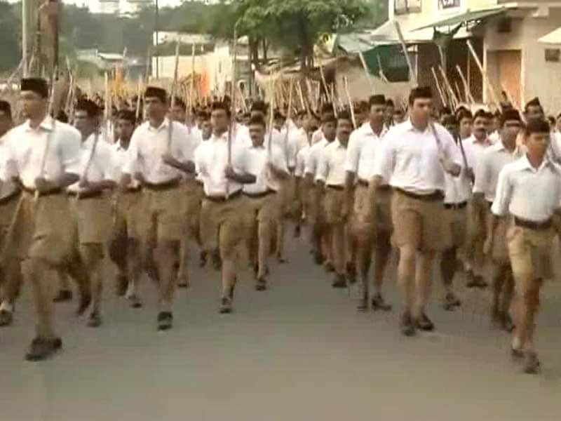 Video : No Politics For Government Staff, But in Chhattisgarh Order, RSS an Exception