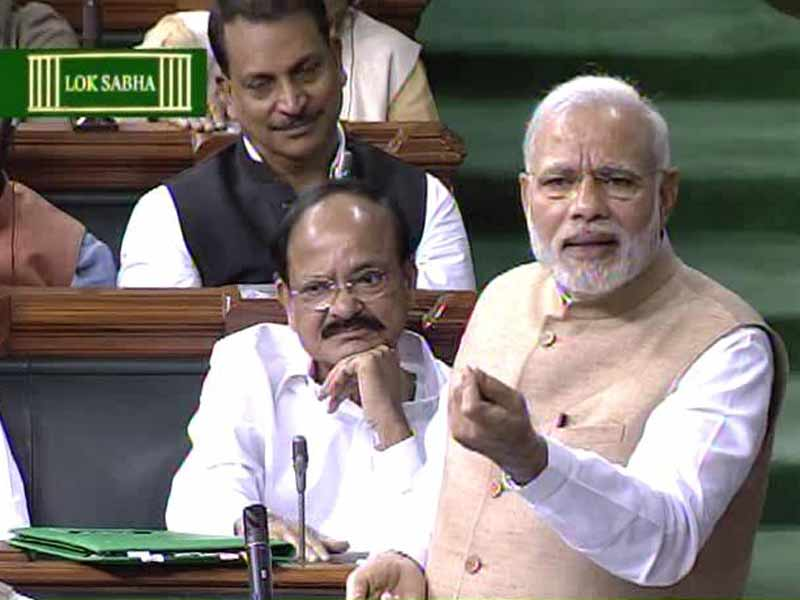 Video : I Take Criticism Positively, Says PM Modi to Parliament