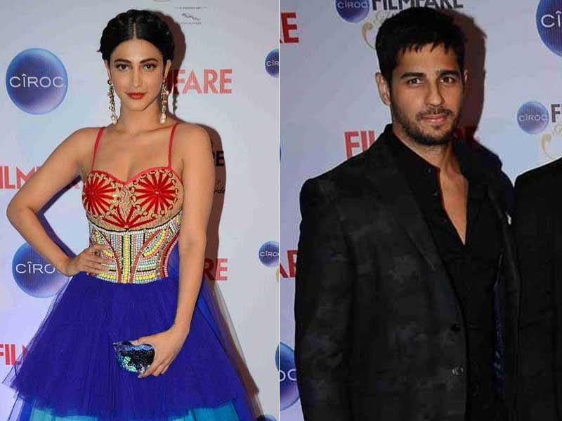 Fashion Disaster: Shruti, Sidharth at Glamour Awards