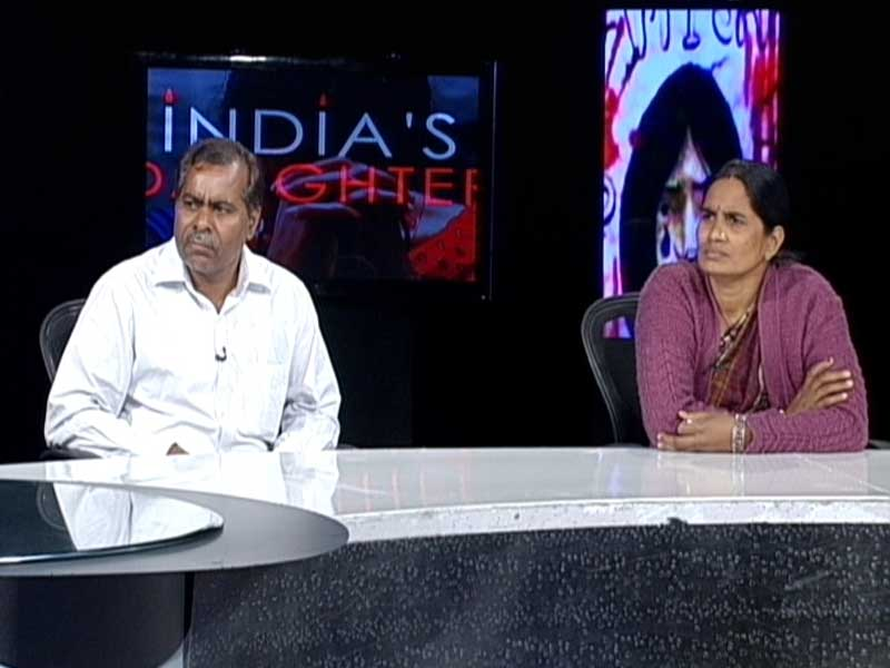 Video : Parents of India's Daughter Speak Out: 'Nothing Matters, We Just Want Justice'