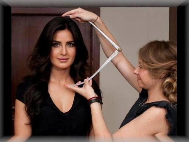 Katrina Preps for Wax Statue at Maudame Tussauds