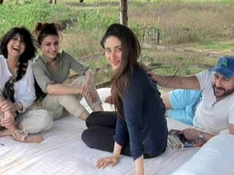Kareena, Saif's Weekend Getaway with Soha, Kunal