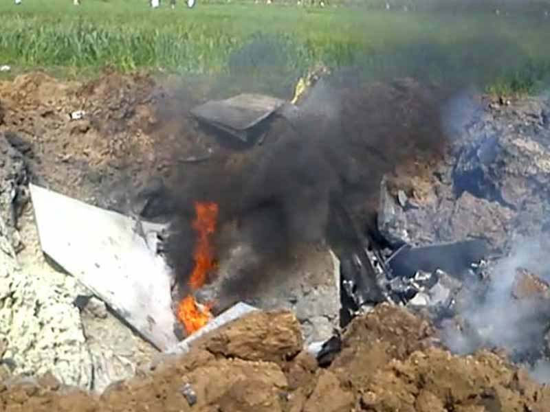 Video : Air Force's Jaguar Fighter Jet Crashes in Haryana; Pilot Ejects Safely