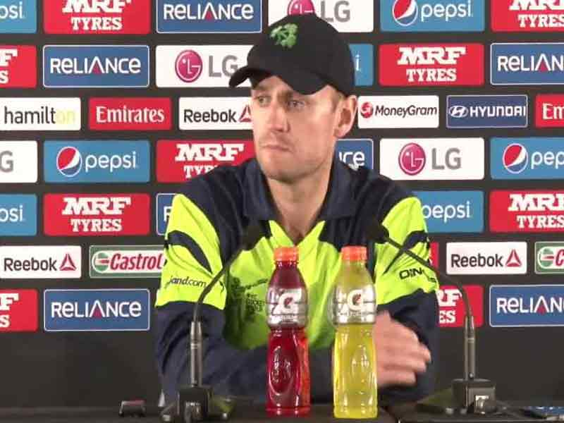 World Cup 2015: After India Rout, Ireland Captain Porterfield Wants Quality Exposure