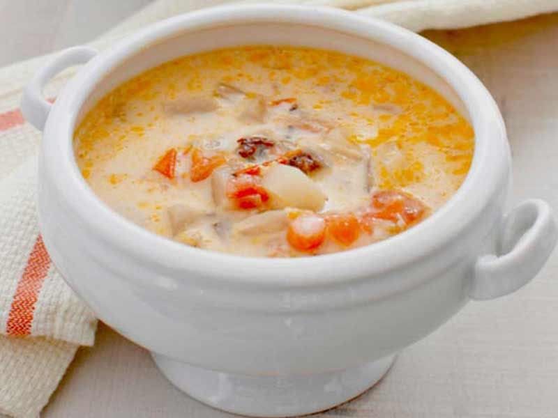 Video : American Corn and Crab Soup