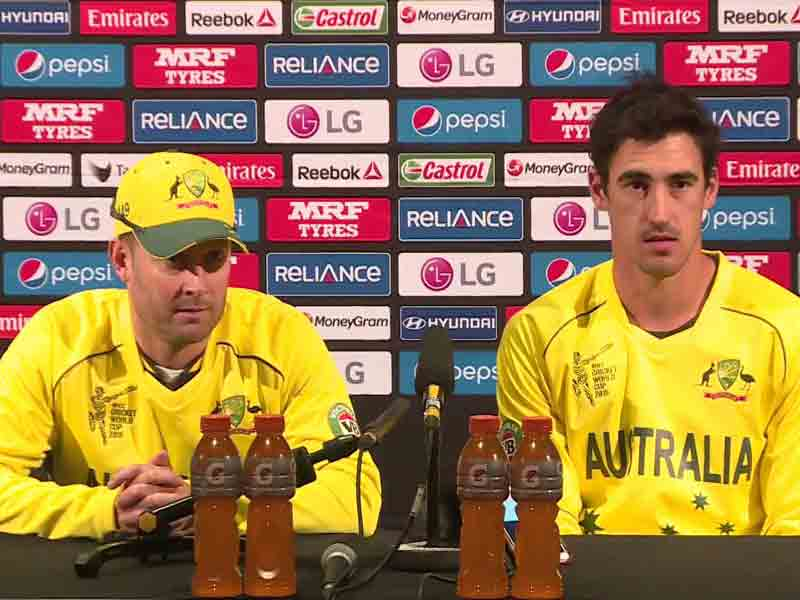 Video : World Cup 2015: Not Worried About Who Australia Play in Quarters, Says Michael Clarke