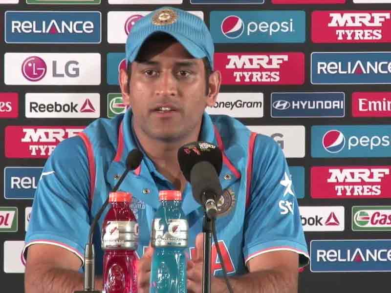 Video : World Cup 2015: A bit of IPL Formula Helped India get Past Zimbabwe, Reveals MS Dhoni