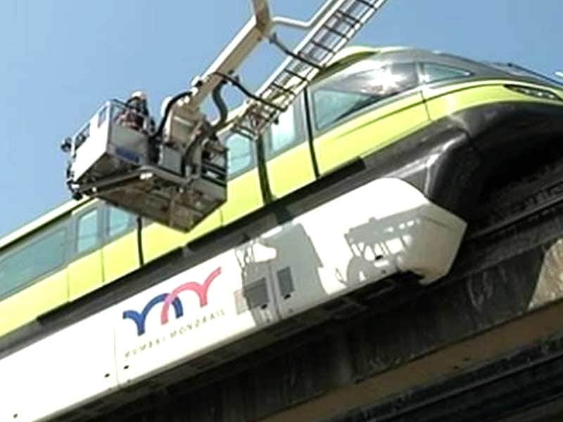 Video : Mumbai Monorail Services Resume After Disruption, Government Orders Probe