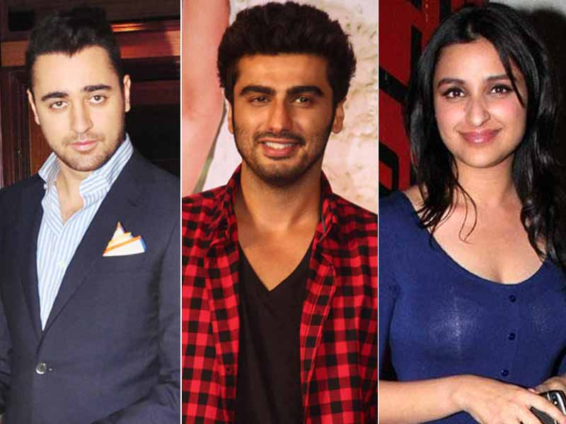 Arjun, Parineeti, Imran Take a Short Break from Films