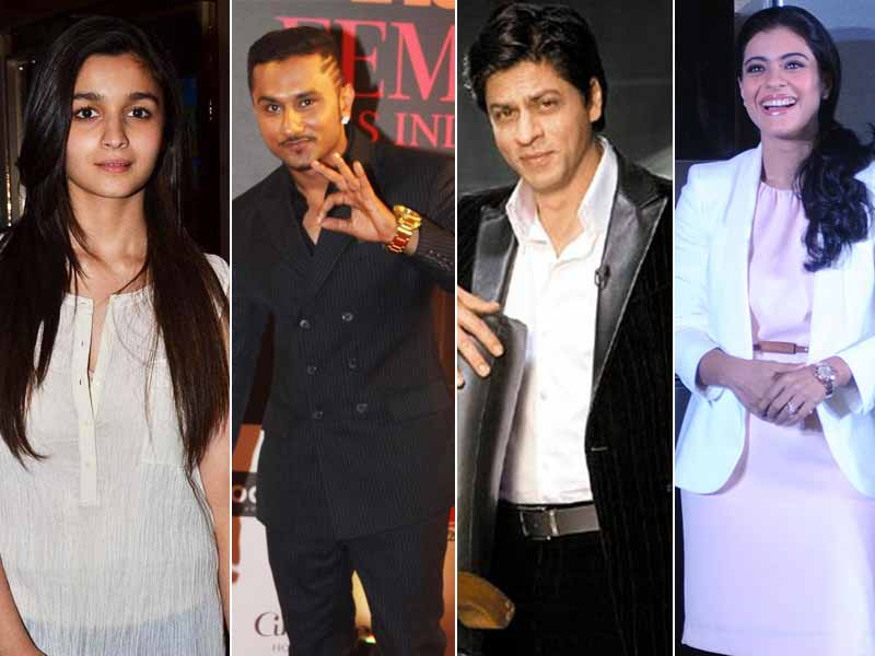 Alia, Honey Singh's Low Key Birthday Celebrations; SRK, Kajol in Rohit Shetty's Dilwale