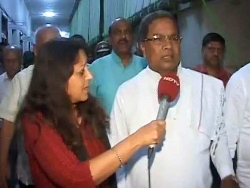 Video : IAS Officer's Death: No Need For CBI Probe, Karnataka Chief Minister Siddharamaiah Tells NDTV