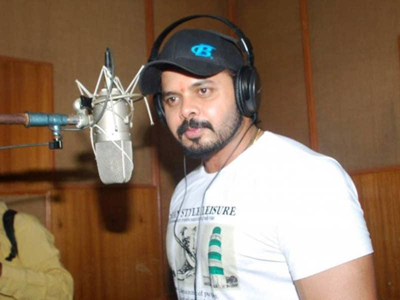 Video : चला श्रीसंत हीरो बनने, रिकॉर्ड किया गाना
