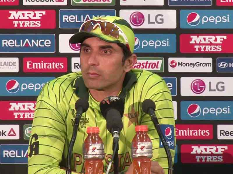Video : After World Cup Exit, Misbah-ul-Haq Admits Pakistan Not International Class