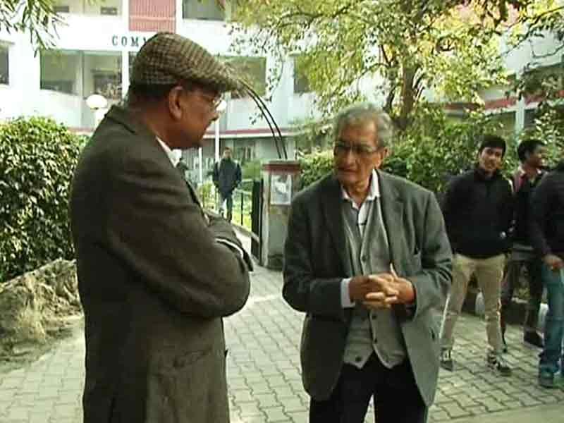 Video : Walk The Talk with Amartya Sen