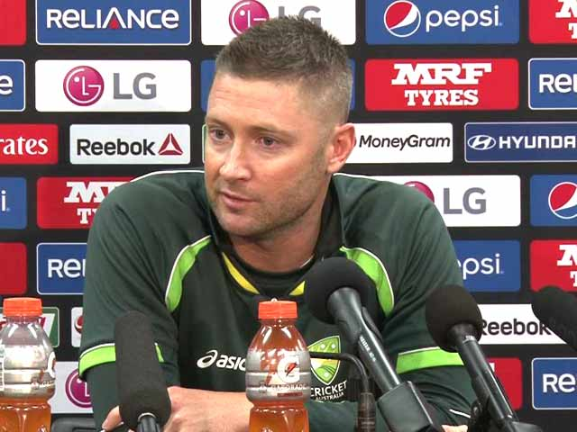 Video : India vs Australia World Cup 2015 Semis: Experience Matters in Big Games, Says Michael Clarke
