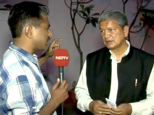 Video : टिहरी बांध की वजह से हरिद्वार-ऋषिकेश आपदा में बचे : CM रावत
