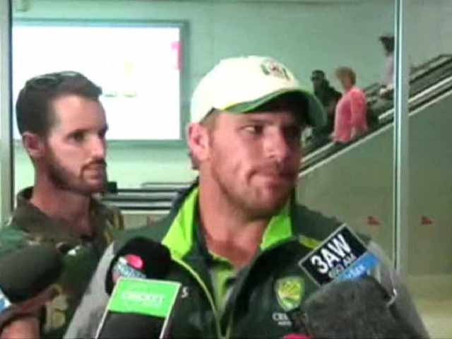 Video : World Cup 2015: Aaron Finch on a High After Gritty Fight vs India