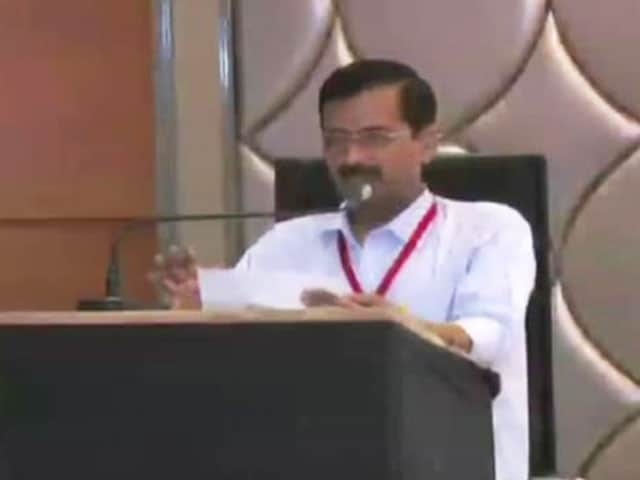 Video : AAP Releases Video of Arvind Kejriwal's Speech at Controversial Party Meet