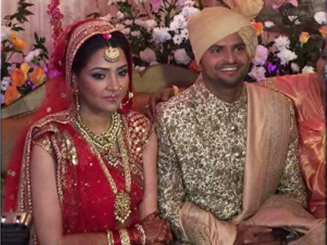 Video : Dhoni, Srinivasan, Fleming Lead Cricketing Fraternity at Suresh Raina's Wedding