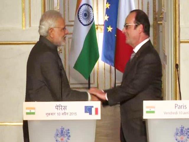 Video : फ्रांस से 36 राफेल एयरक्राफ्ट खरीदेगा भारत : पीएम मोदी