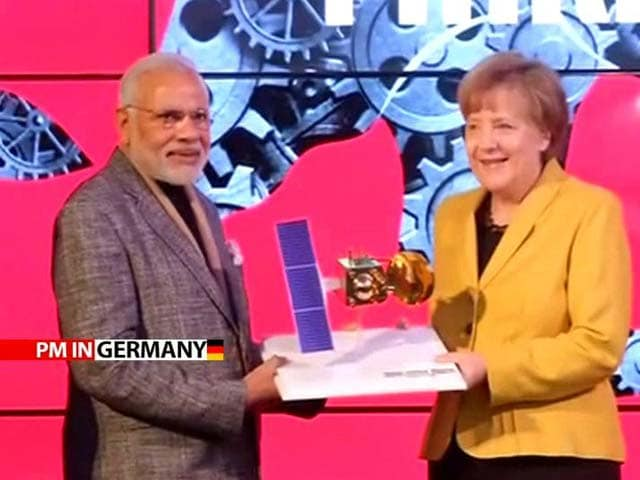 Video : 'Demography, Democracy, Demand Drawing World to India,' Says PM Modi in Germany