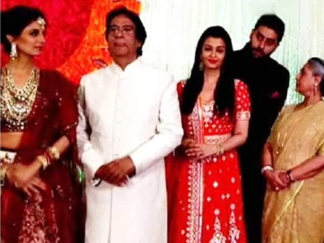 Video : At Naina Bachchan and Kunal Kapoor's Reception