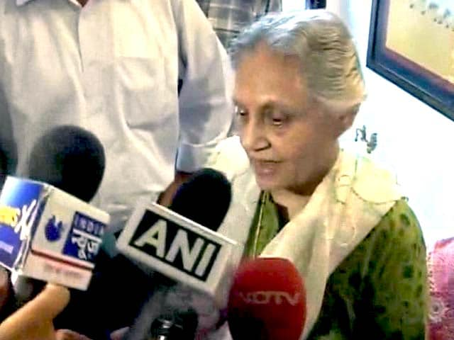 Video : Was Misquoted, Says Sheila Dikshit, Denies Rahul Gandhi Criticism