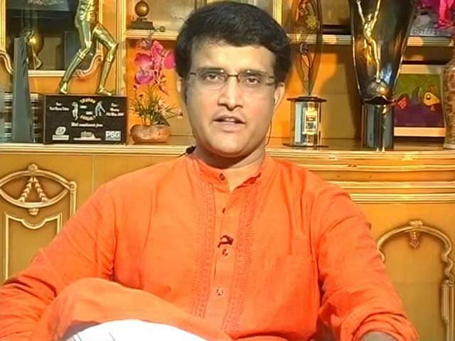 Video : Will Sourav Ganguly be India's New Team Director?