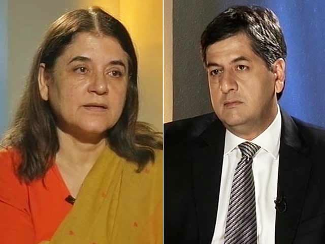 Video : 'Girl's Harassment Starts in Womb, We're Trying to Stop That': Maneka Gandhi
