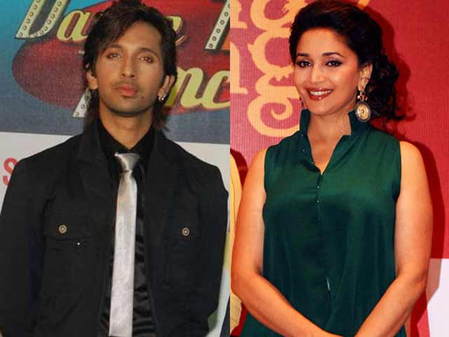 Madhuri Dixit Joins Choreographer Terence Lewis for Dance Fest
