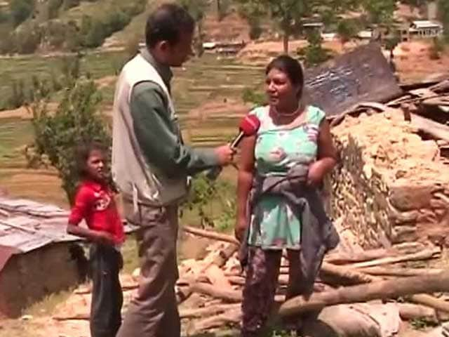 Video : 'What's the Use of Crying, Can't Get Anything Back,' Says This Villager in Earthquake-Hit Nepal