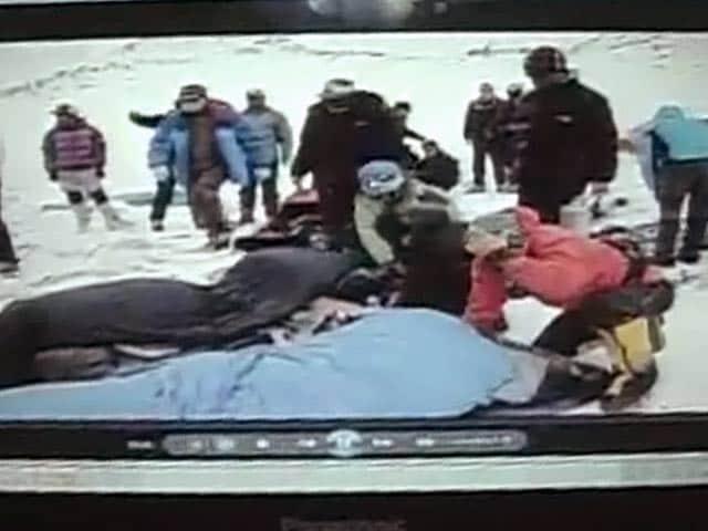 Video : NDTV एक्सक्लूसिव : एवरेस्ट बेस कैंप से भूकंप के समय की तस्वीरें